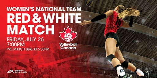 Women's National Team:                  Red & White Match