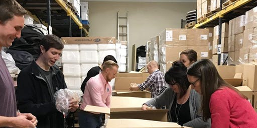 Package Meals for Meals on Wheels at LifeCare Alliance - 8/14/19