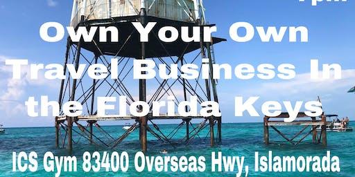 FLORIDA KEYS: Travel Industry Business Opportunity