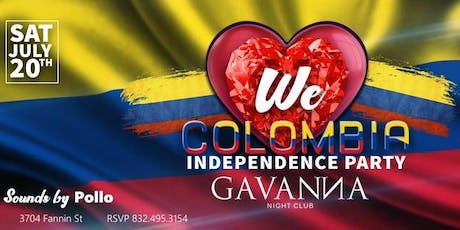 We Love Colombia Independence Party by Mythnight tickets