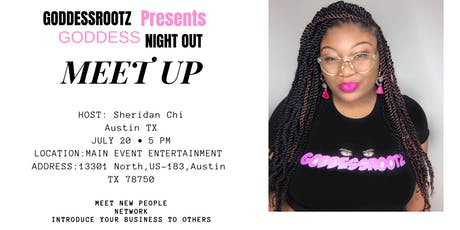 Goddess Night out - Meet Up tickets