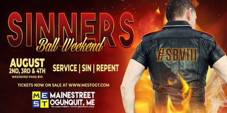 Sinner's Ball Weekend 2019 tickets