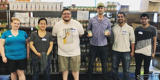 Volunteer for Mid-Ohio Foodbank Kroger Food Pantry - 8/17/19