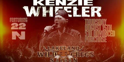 Kenzie Wheeler Live Ft. 22N at Wild Greg's Saloon Lakeland