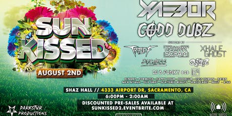 Sun Kissed 2019! Featuring Xaebor, Codd Dubz + More! | Darkstvr Productions tickets