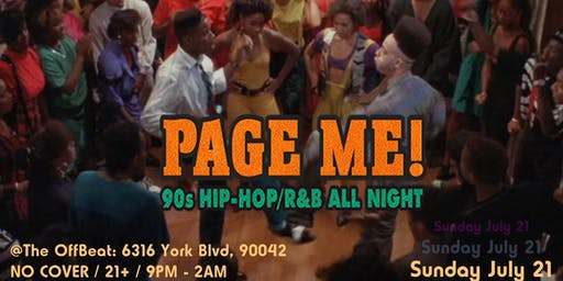 Page Me! 90's Hip Hop, R&B and Neo Soul
