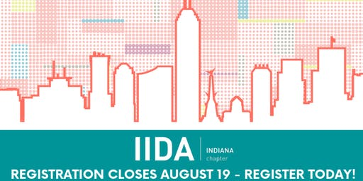 2019 IIDA Indiana Design Expo - ATTENDEE Registration