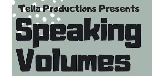 Speaking Volumes Showcase