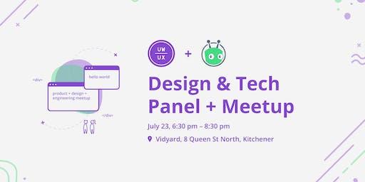 Design & Tech Panel + Meetup @Vidyard
