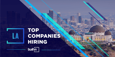 Built In LA's Top Companies Hiring tickets