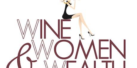 Wine, Women & Wealth - Westminster Area tickets