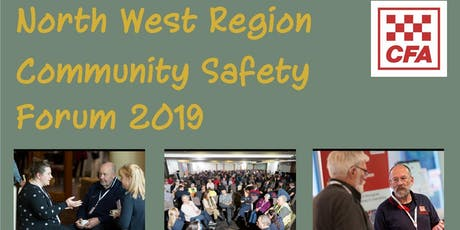 2019 North West Region Community Safety Forum tickets