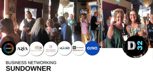 District32 Business Networking Sundowner - Fri 30th Aug