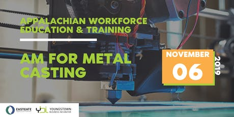 AWET: AM for Metal Casting tickets