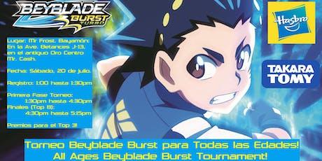 Torneo Beyblade Burst para Todas las Edades!! / All Ages Burst Tournament!! tickets