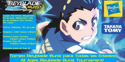 Torneo Beyblade Burst para Todas las Edades!! / All Ages Burst Tournament!!