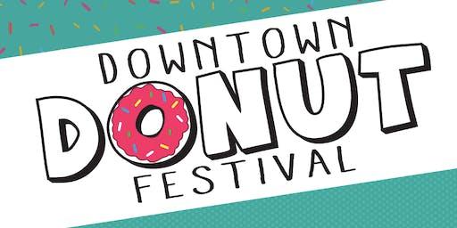 Downtown Donut Festival 2019