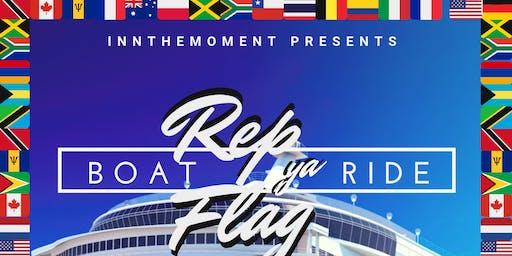 Innthemoment Presents Rep Ya Flag Boat Ride
