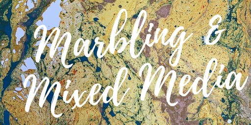 Marbling and Mixed Media Workshop