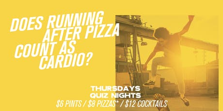Does Pizza Count As Cardio? tickets