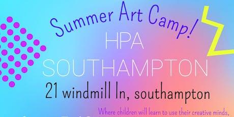 Summer Art Camp! tickets