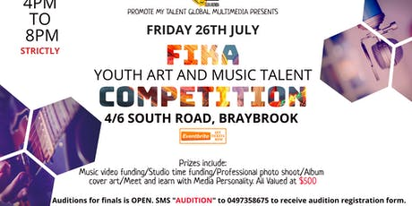 FIKA 2019 YOUTH TALENT COMPETITION FINALS  tickets
