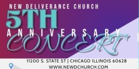 New Deliverance Church 5th Anniversary Concert ft. KB Evans tickets