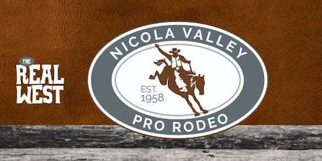 Nicola Valley Pro Rodeo tickets