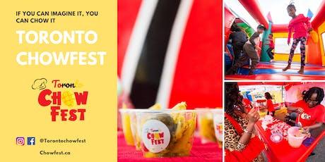 Toronto Chowfest 2019 tickets