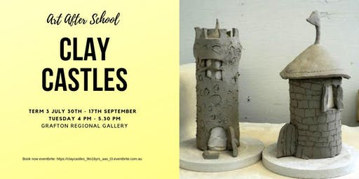 CLAY CASTLES Art After School T3