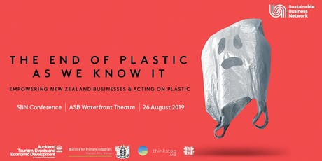 The End of Plastic as We Know It - SBN's Annual Conference tickets
