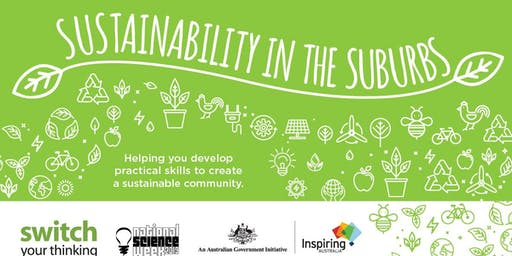 Sustainability in the Suburbs Forum