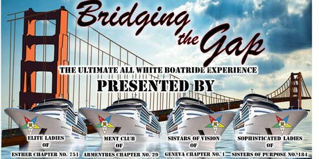 Bridging the Gap: The Ultimate All White Boatride tickets