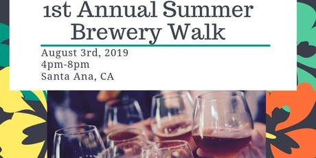 ASCE OC YMF - 1st Annual Summer Brewery Walk tickets