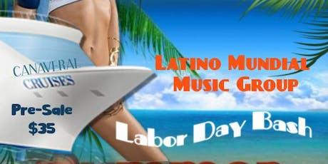 Latino Mundial Music Labor Day Bash tickets