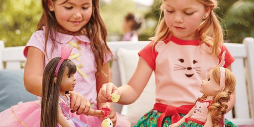 American Girl Tea Party event