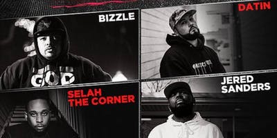 God Over Money tour Bizzle , Datin , Selah Da Corner, Jered Sanders