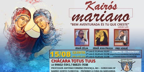 KAIRÓS MARIANO ingressos