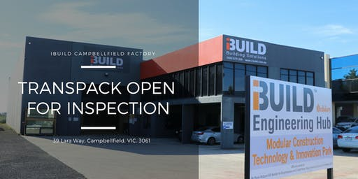 iBuild TransPack Open For Inspection Event 7 August 2019