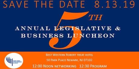 NJJBA Legislative and Business Luncheon tickets