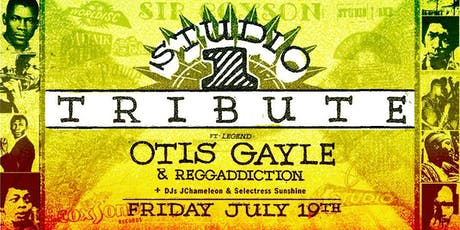 Studio One Tribute w/ reggae legend Otis Gayle & Reggaddiction at Beaches tickets