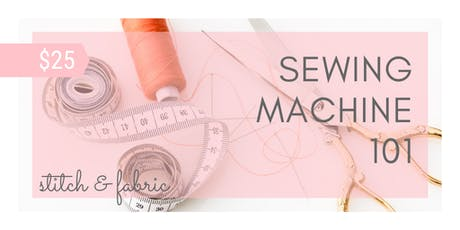 Sewing Machine 101 @ Charm School tickets