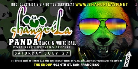 ShangriLa - Saturday July 27 - PANDA Black & White Party tickets