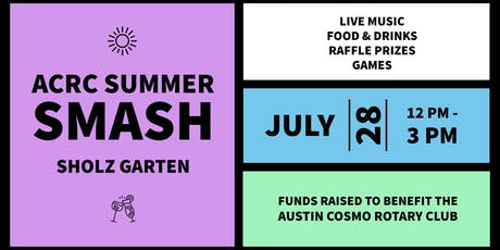 ACRC Summer Smash: Live Music, Games, Raffle Prizes and More tickets