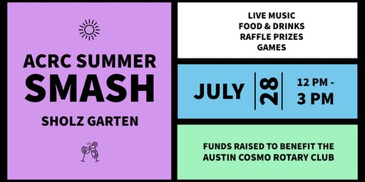 ACRC Summer Smash: Live Music, Games, Raffle Prizes and More
