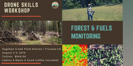 Drone Tools Workshop: Forest & Fuels Monitoring tickets