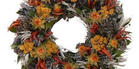 Fall Wreath Design Class tickets