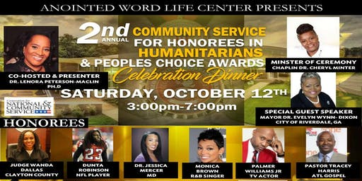 2nd Annual Community Service for Humanitarian & People Choice Awards