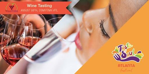 Wine Tasting - VinoTOSA (African American Winemakers)