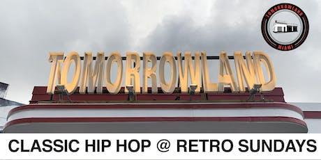 Retro Sundays at Tomorrowland  tickets